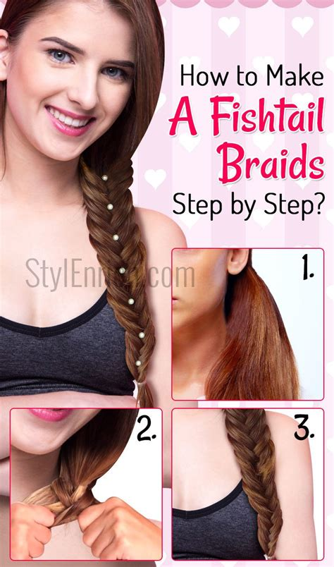 steps to show how to make fish tail favload thick fishtail braid blackhairstylecuts com