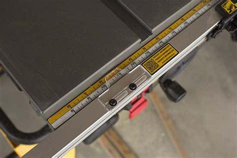 dewalt table saw fence dewalt dwe7491rs table saw fence guide tool box buzz