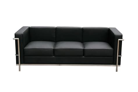 leather black couch furniplanet com buy leather sofa chair set cour at