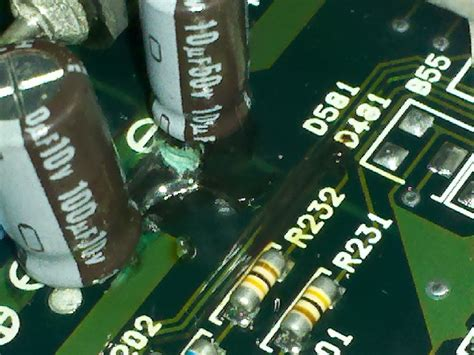 capacitors for leakage all my lexus issues solved ecu leaking capacitor page 11 clublexus lexus forum