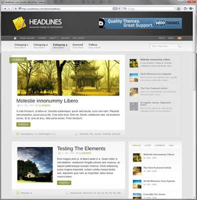 themes wordpress indonesia free wordpress theme 2010 blog berita informasi