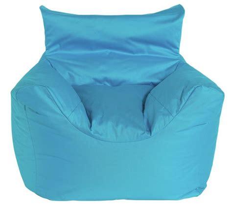 heated bean bag argos buy colourmatch funzee bean bag chair blue at argos
