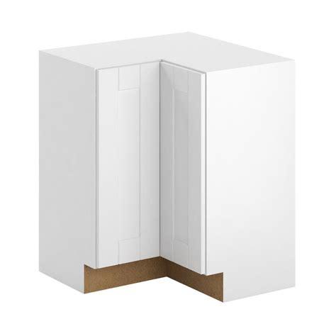 lazy susan corner base cabinet hton bay princeton shaker assembled 28 5x34 5x28 5 in