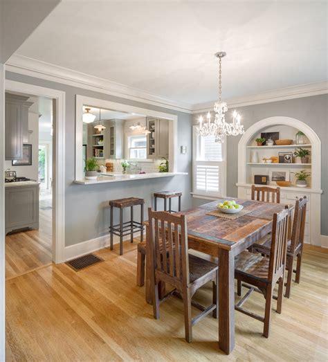irvington historical kitchen remodel craftsman dining