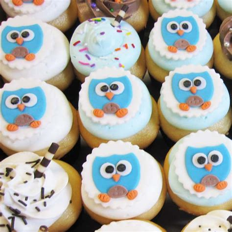 How To Make Owl Cupcakes For Baby Shower owl cupcakes toronto custom cupcakes toronto baby
