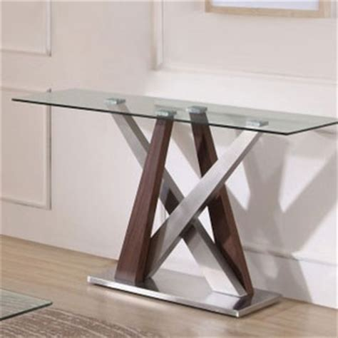 Glass And Chrome Console Table Console Tables Marble Console Tables White Console Table