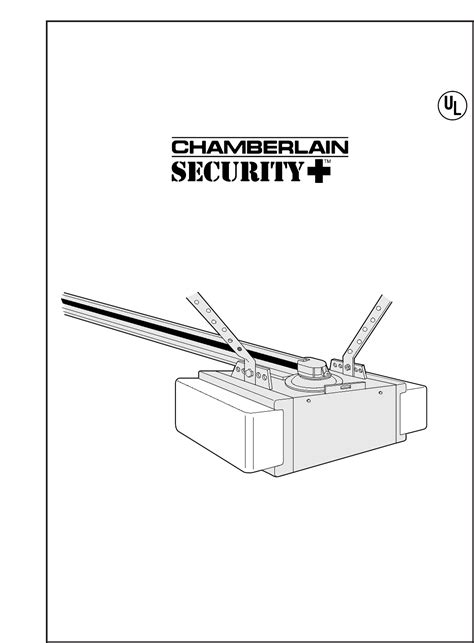 Chamberlain Garage Door Opener Manual 1 2 Hp Chamberlain Garage Door Opener 8200 1 2 Hp User Guide Manualsonline
