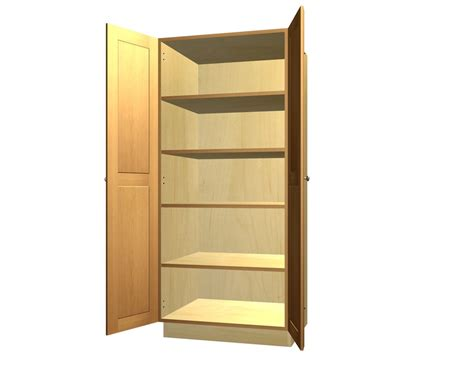 kitchen larder cabinet 2 door tall pantry cabinet