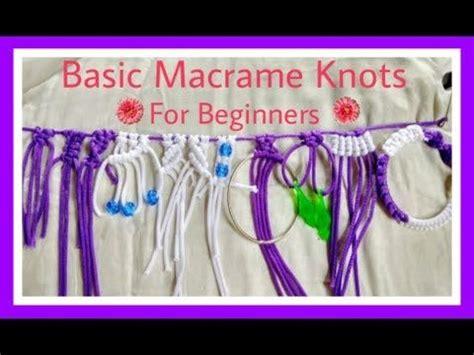 Macrame For Beginners - best 25 macrame ideas on macrame knots