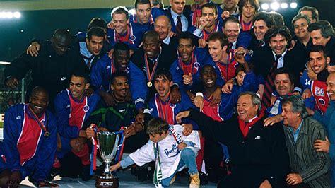 Calendrier 7e Journée Liga Il Y A 20 Ans Le Sacre Du Psg En Coupe Des Coupes