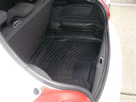 rubber boot mats uk peugeot 208 rubber boot mat bumper protector ebay