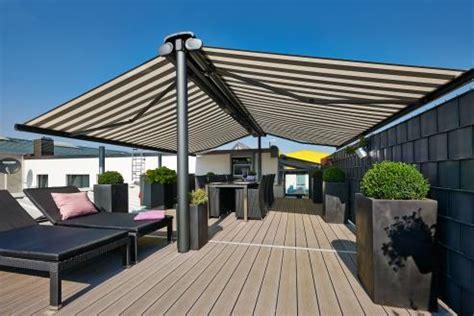 terrace awnings freistehende markisen markilux