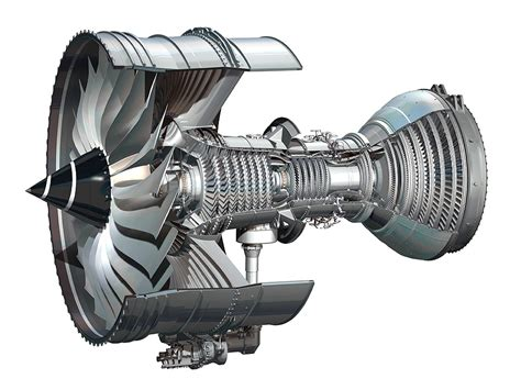 Jet Engine Cross Section by Turbofan Trent Xwb Ilustra 231 227 O Airway