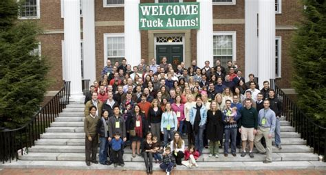 Dartmouth Mba Events by Tuck School Of Business Reunions