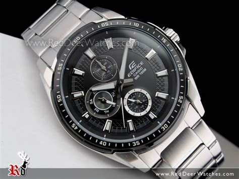 Casio Edifice Ef 339bk 1a1v buy casio edifice 100m multi sports ef 336db 1a1v ef336db buy watches