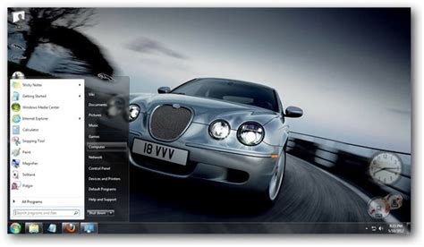 Car Wallpaper Themes Windows 7 by Jaguar Theme For Windows 7