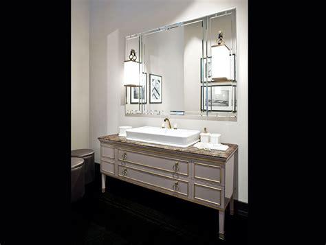 deco bathroom vanity garden