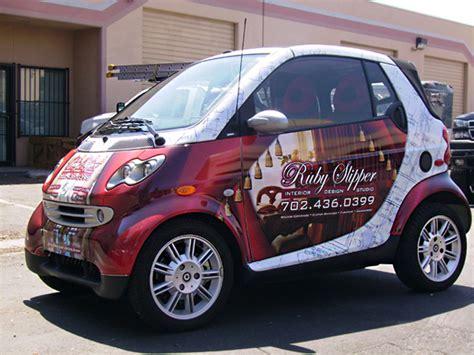 smart car wrap price ruby slipper smart las vegas car wrap