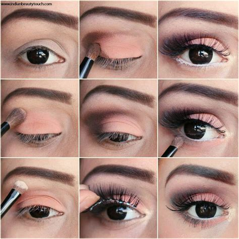 Eyeshadow A how to do easy brown smokey eye makeup indian touch
