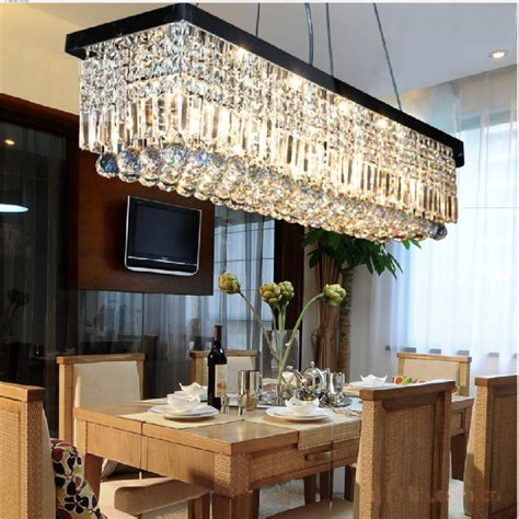 chandeliers for dining rooms 24 rectangular chandelier designs decorating ideas