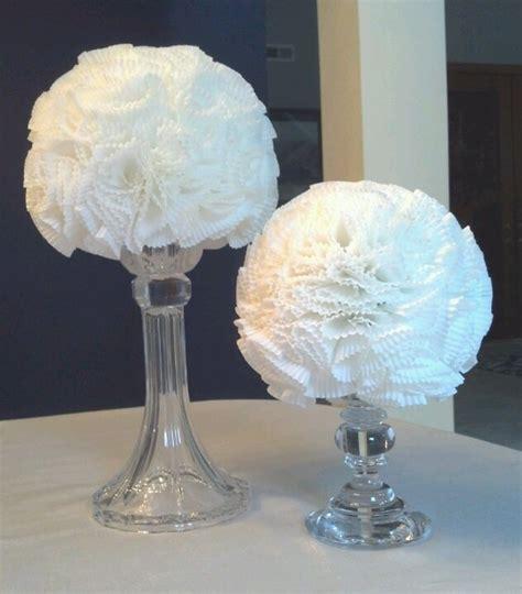 wedding shower centerpieces ideas diy bridal shower centerpieces weddings tutu tablecloth bridal showers and