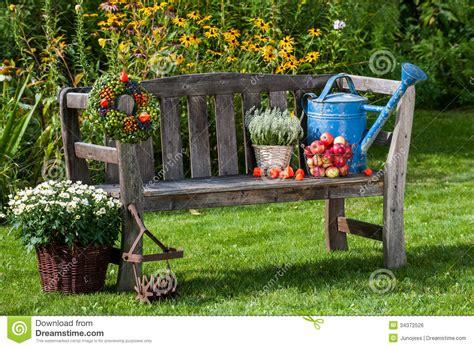jardin d automne image libre de droits image 34372526