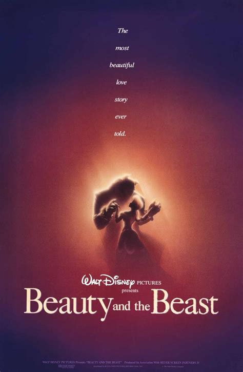 beauty and the beast 1991 story disney princesses