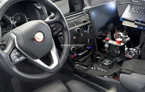 rolls royce cullinan interior spied 2019 rolls royce cullinan interior has a phantom