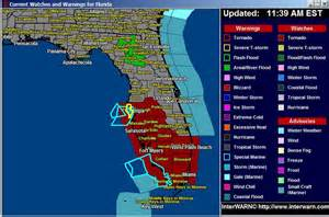 tornado watches issued from orlando florida south