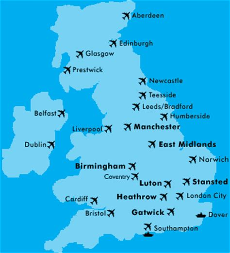 map uk airports liberty hire home