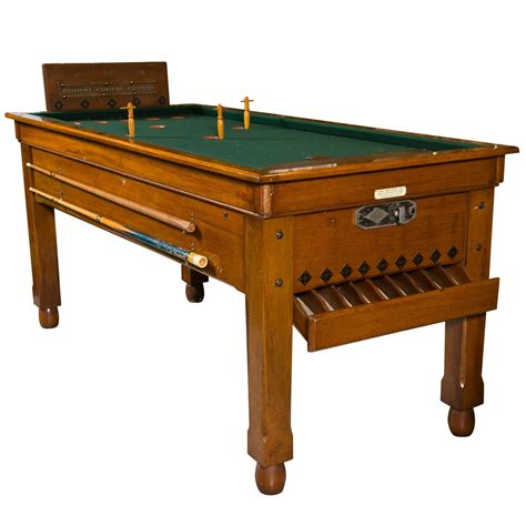 antuqe bar billiards table at 1stdibs
