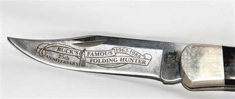 buck knives south africa knives buck folding 25th anniversary knife was sold for