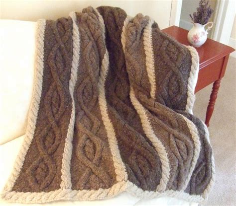 knitted afghans country nights afghan by dawnbrocco craftsy
