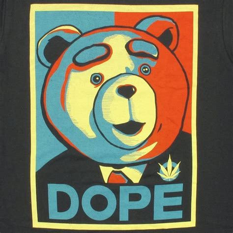 Ted Dope Poster T Shirt Sheer