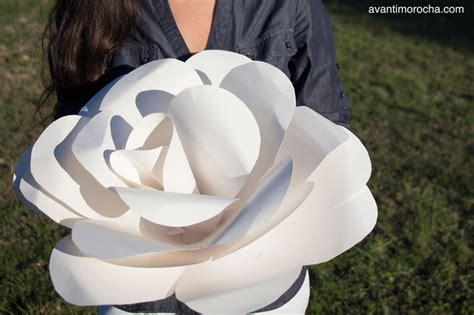 How To Make Large Paper Roses - diy paper iii how to make a paper flower
