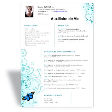 Exemple De Lettre De Motivation Vie T 233 L 233 Charger Mod 232 Le Cv Word Emploi Auxiliaire De Vie Sociale