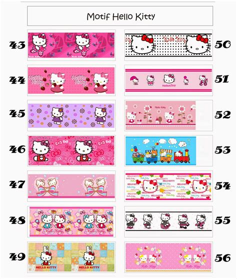 jual wallpaper hello kitty murah wallpaper dinding murah meriah 107 harga wallpaper dinding