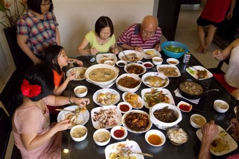 new year family feast feast quot ful quot malaysia new year 2012 part 1