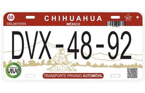 requisitos para placas nuevas chihuahua checa los requisitos para el canje de placas