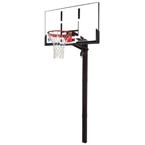 spalding basketball table spalding in ground basketball system 88365 54 inch acrylic