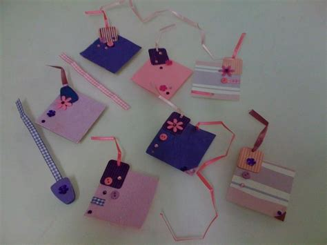 How To Make Waste Paper Flowers - diy made gift tags made from paper ncrep and