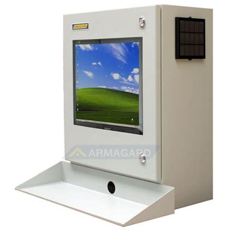 mensola porta pc armadio porta pc protezioni industriali per lcd monitor