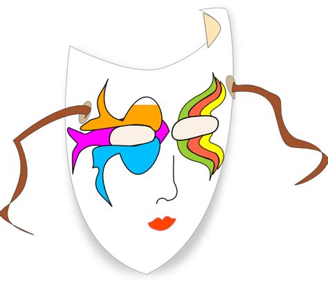 carnevale clipart carnival mask clip at clker vector clip