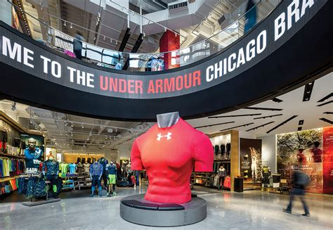 Home Decor Stores Chicago by Under Armour Unveils Chicago Brand House Store Concept