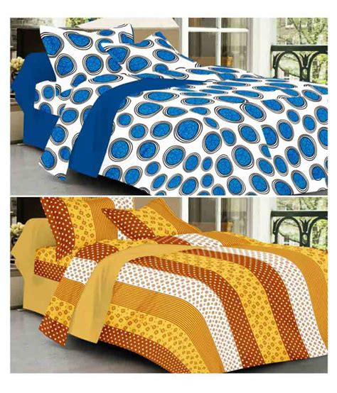 printed bed sheets always plus double cotton printed bed sheet buy always