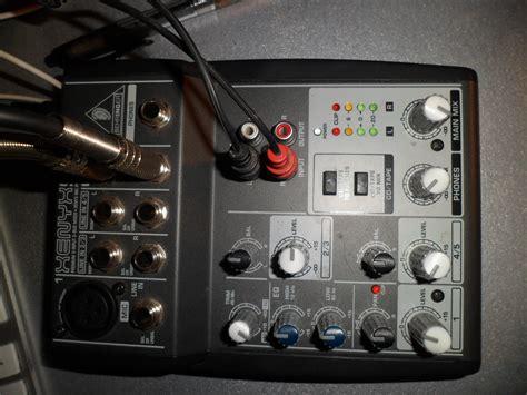 Mixer Behringer Xenyx 502 behringer xenyx 502 image 326825 audiofanzine