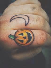 pumpkin tattoo