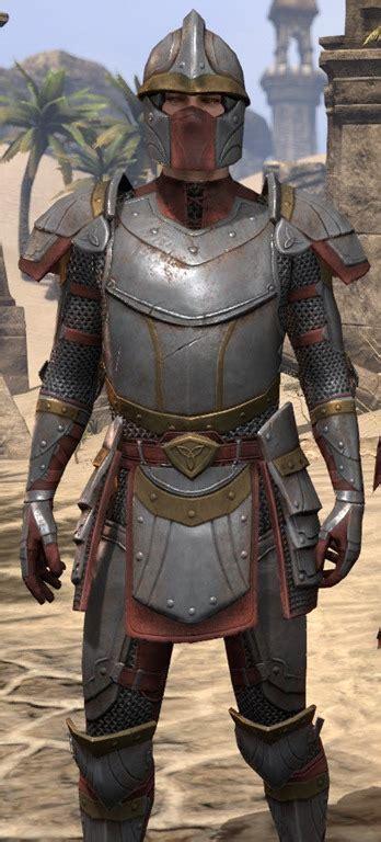 eso fashion knight   flame elder scrolls