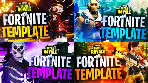 Robert On Twitter Quot Which Fortnite Battle Royale Thumbnail Template Should I Release First Fortnite Template