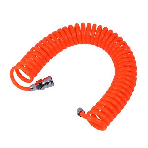 6m 19 7ft 8mm x 5mm pu recoil hose for compressor air tool p6m2 ebay